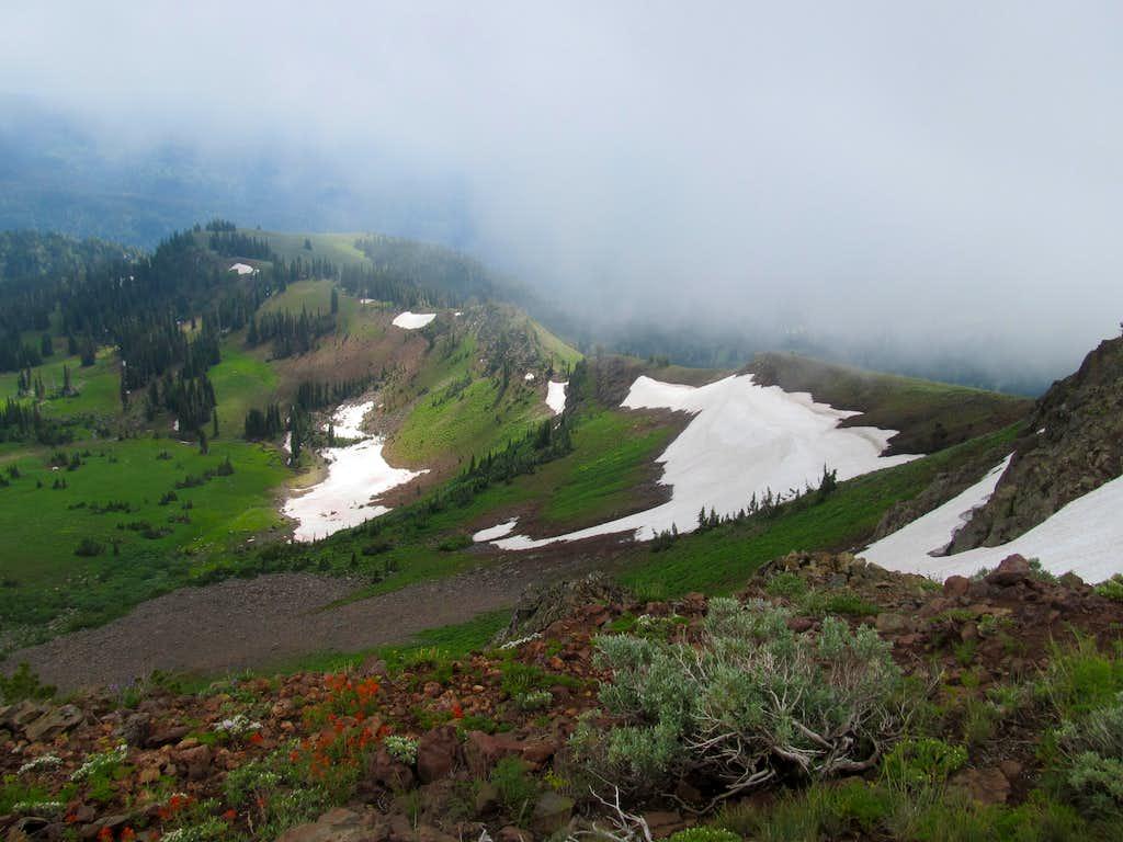 ridges below Council