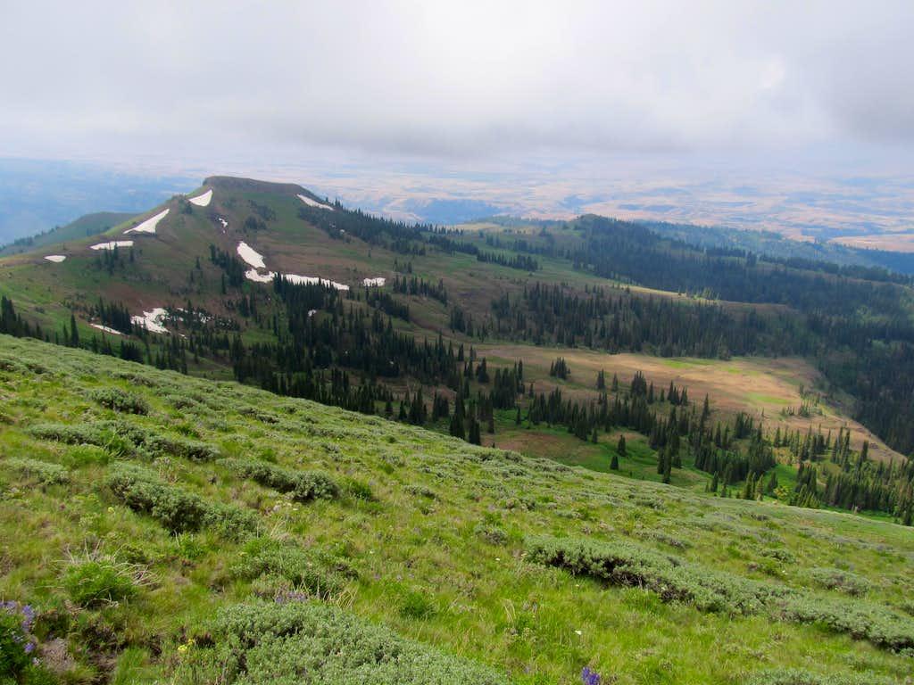 SW-ish from summit