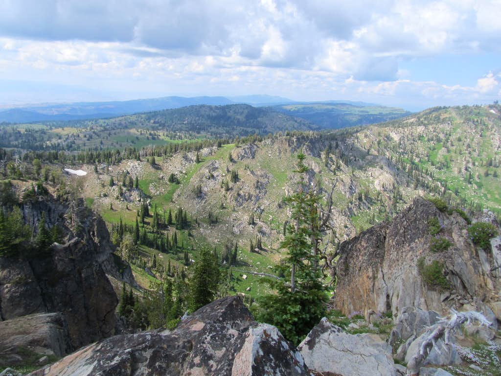 north from Granite