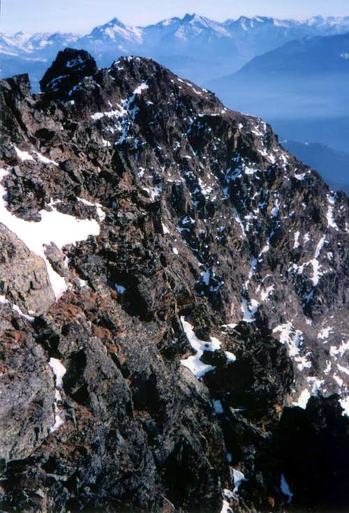 Tsaat a l\'Etsena W Summit First Winter Ascent 1985