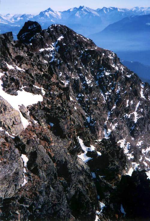 Tsaat a l'Etsena W Summit First Winter Ascent 1985
