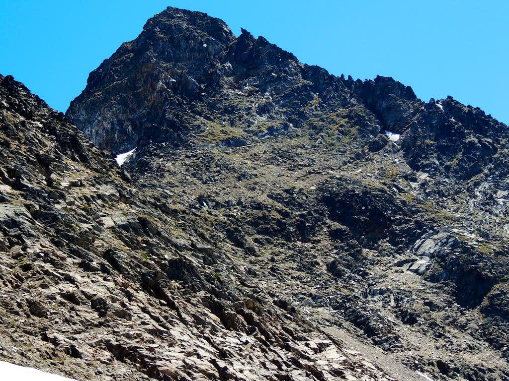 Clark Mountain west face