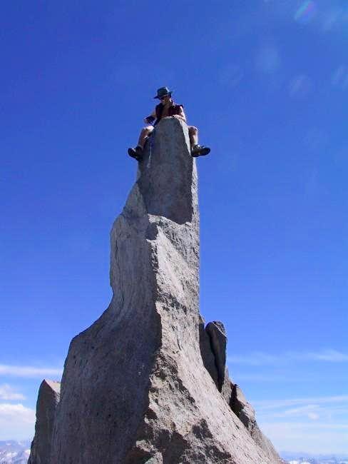 The summit pinnacle I free...