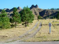 Cheyenne Buttes East Trailhead