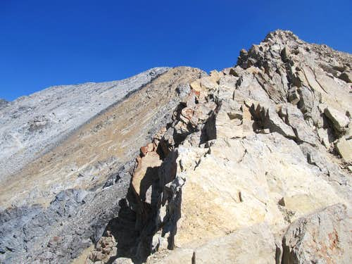 colorful rocks of the COR