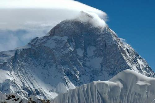 Makalu West Face seen from...