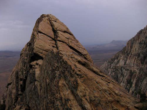 Avoiding a Strikeout on White Rock Pinnacle
