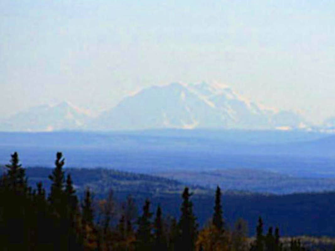 View of Denali from Ester Dome