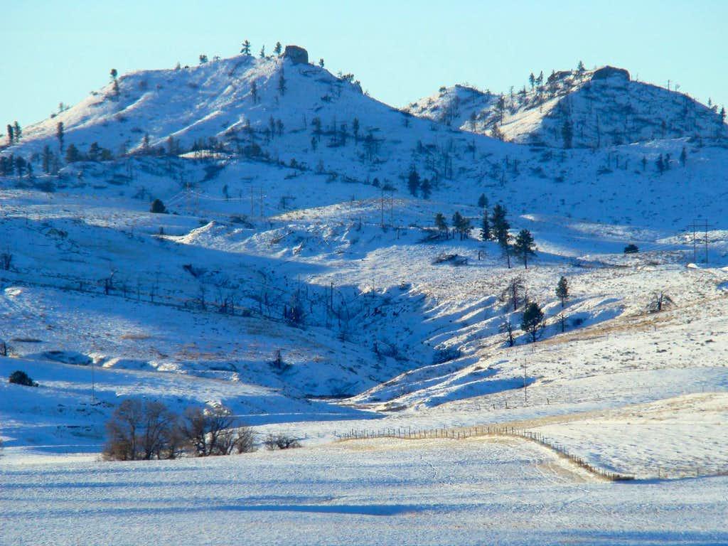 Winter on Aristocrat Peak