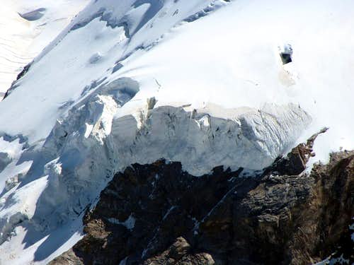 Glaciers of the Monte Rosa