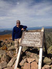 Katahdin Summit, wohoo!