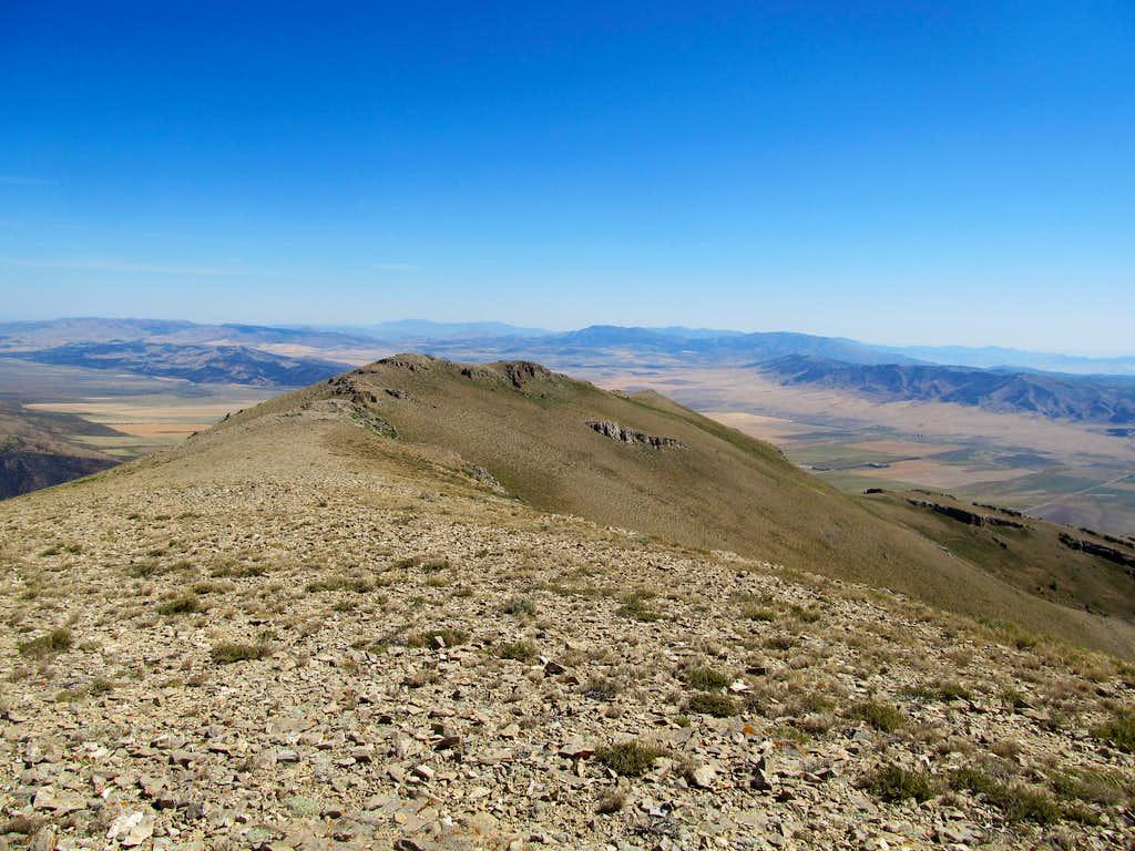 NE from summit