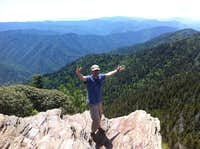 Atop Mt Leconte