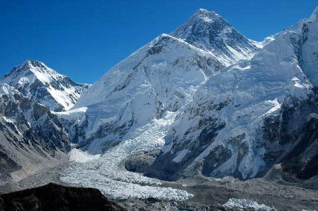 Changtse, Everest, Khumbu ice...