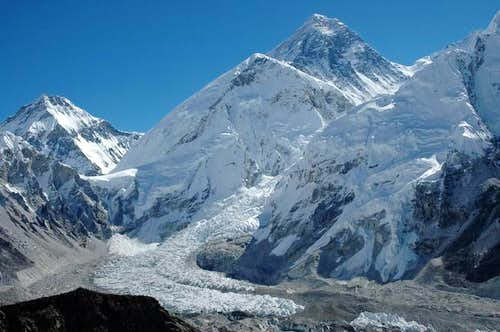 Changtse, Everest, Khumbu ice...