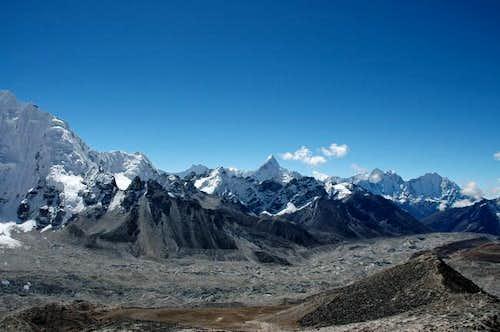 Khumbu glacier 'highway' and...