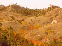 Fall colors at Chadron State Park