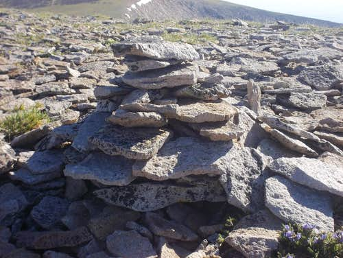 Big Baldy Summit Cairn