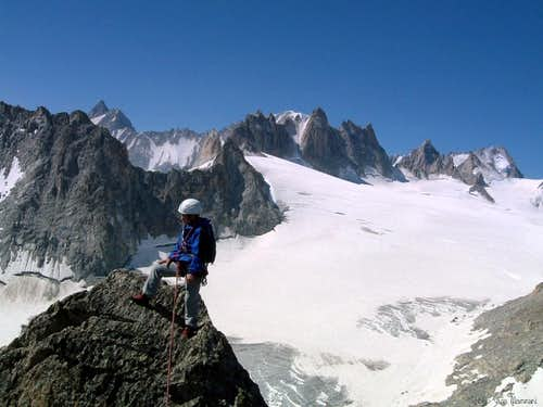 Summit of Aiguille d\'Orny