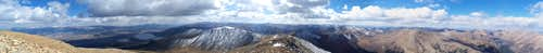 Mount Elbert Summit Panorama