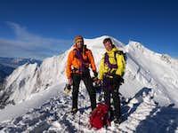 Summit of Tacul