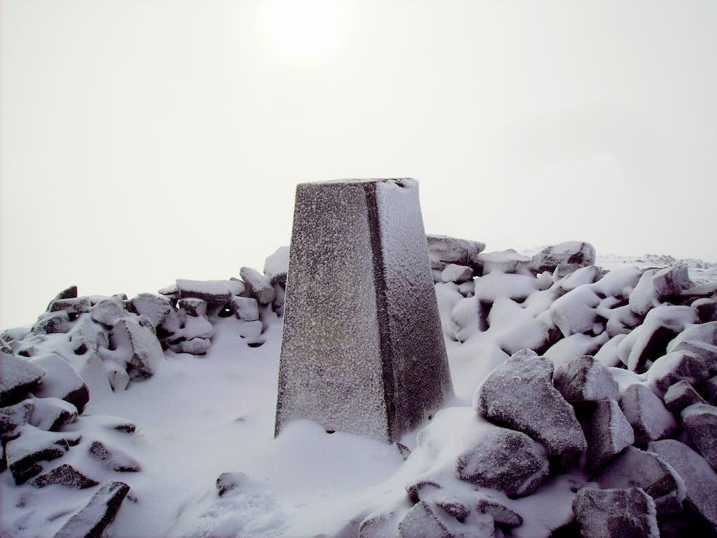 Carn Liath Summit Marker