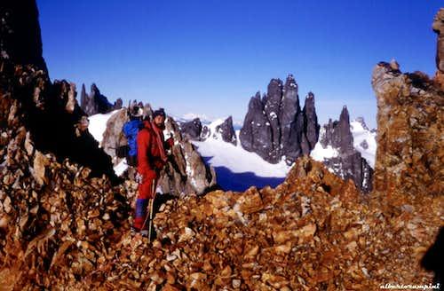 San Lorenzo approach ridge