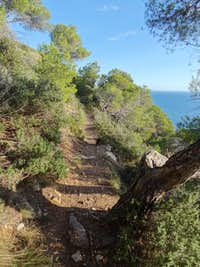 Trail on Cap de Begur