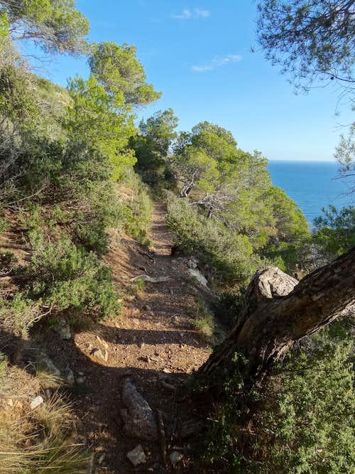 Trail on Cap de Begur