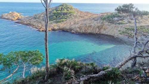 Fairy blue in Sa Tuna bay