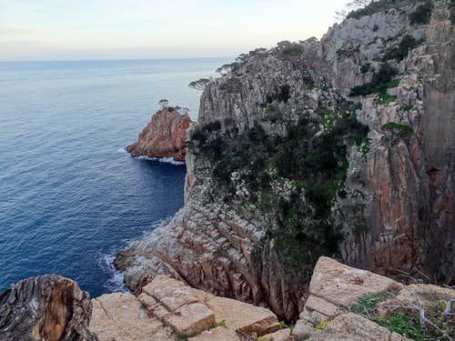 Cliffs in Fornells