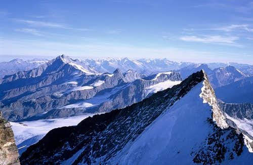 Nordend and the Alps