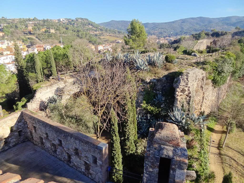 Pyrenean Forehills from Girona's fortifications