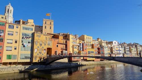 Girona old centre