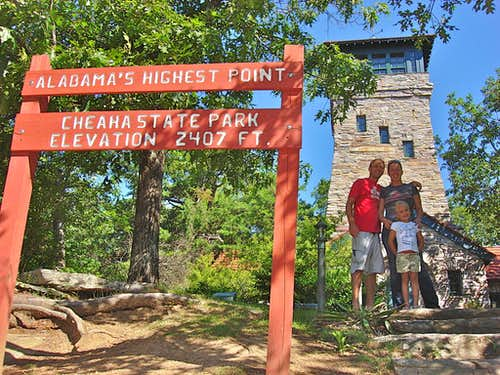 Trail: Cheaha Lake to Summit