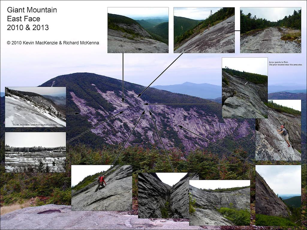 Giant Mountain East Face Mosaic