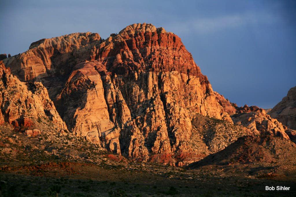 Rainbow Mountain, Dawn