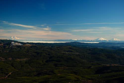 Cascades Volcanoes
