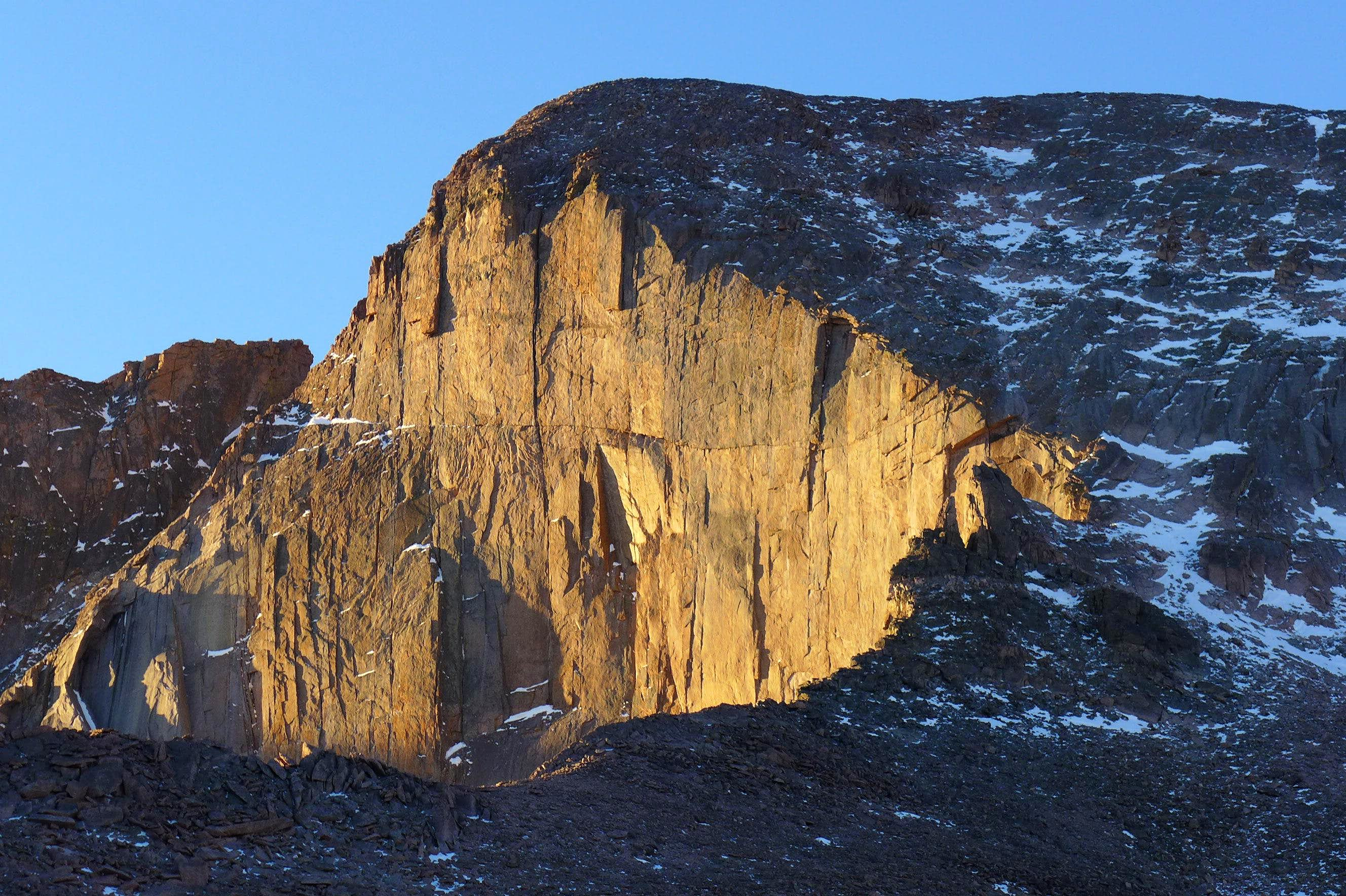 Longs Peak - North Face - 1/19/2013