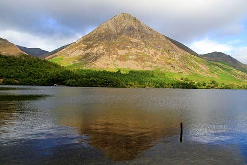 The West Face of Grasmoor