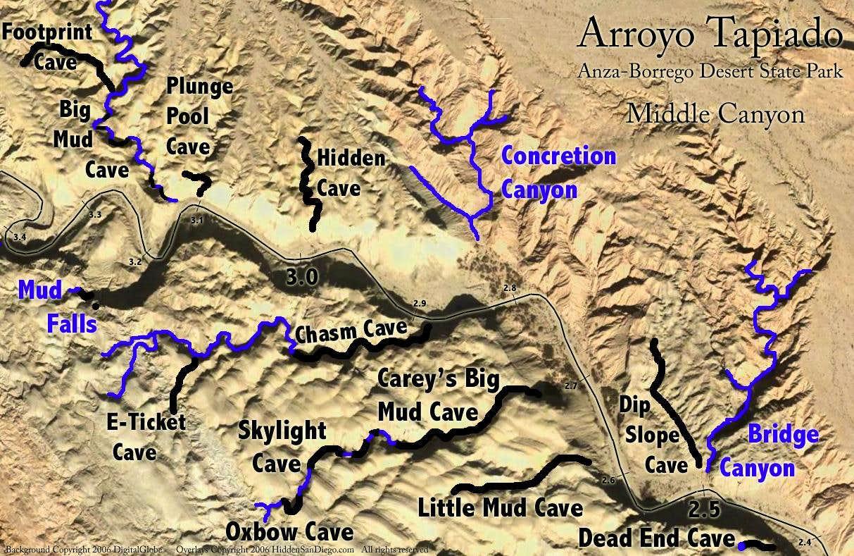 Arroyo Tapiado Mud Caves Custom Object SummitPost