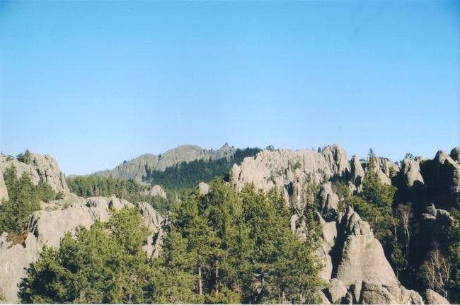 A view of the summit from...