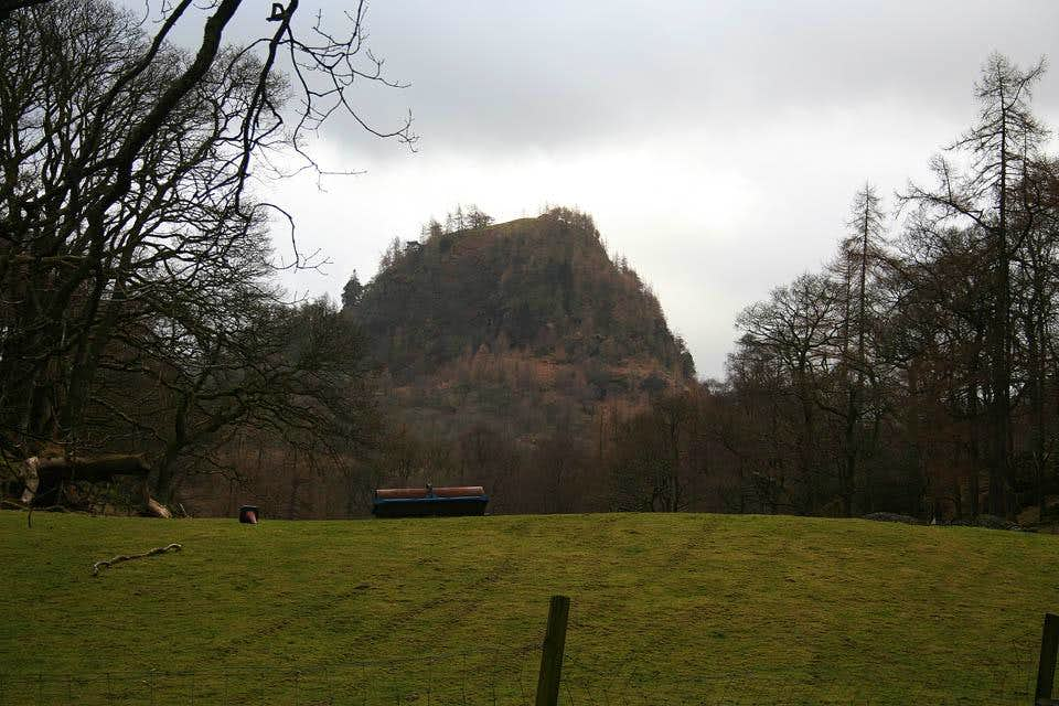 Castle Crag in Borrowdale