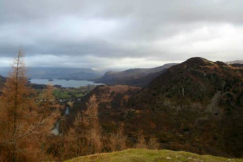 The view from Castle Crag