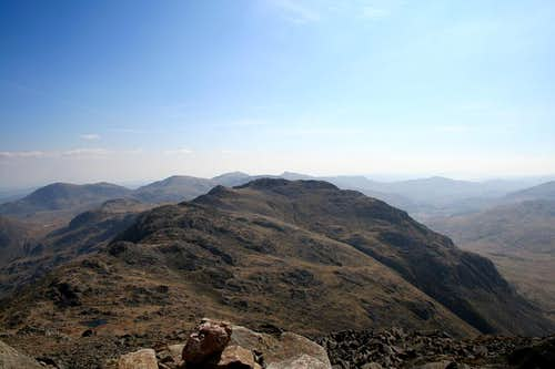Crinkle Crags from Bowfell
