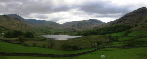 Little Langdale panorama