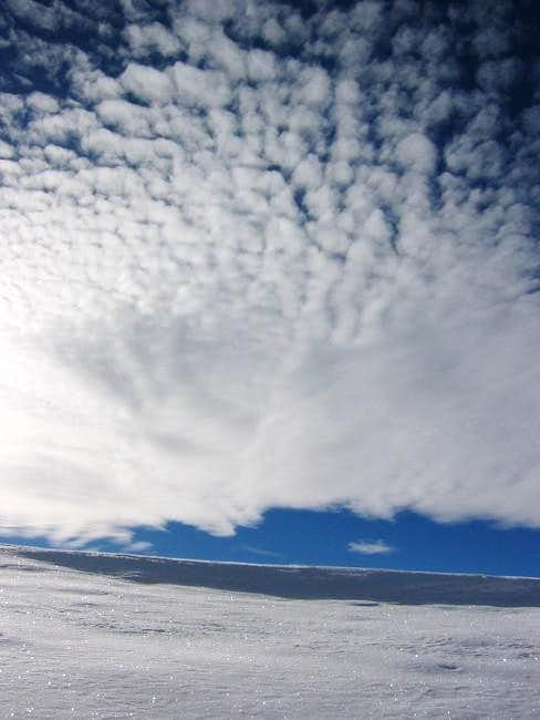 Cool Cloud formation on a...
