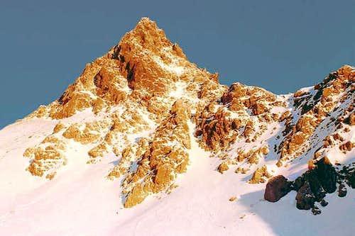 The summit of Yariga-take...