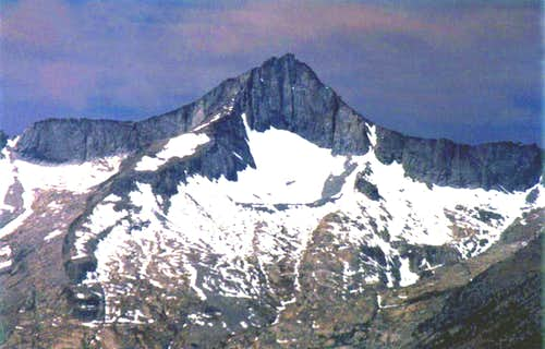 Mt. Brewer from Mt. Gould