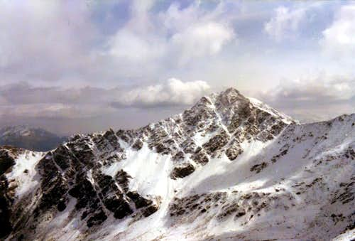 "Mount Fallère from West View, by ""Crevassino"" 1972"